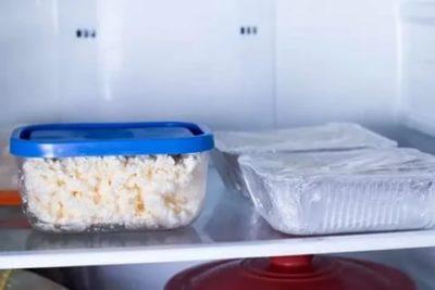 Сколько можно хранить домашний творог в морозилке