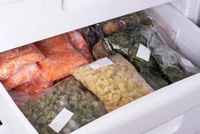Какие продукты можно хранить в морозильной камере