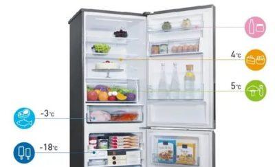 Сколько градусов в морозилке холодильника Атлант