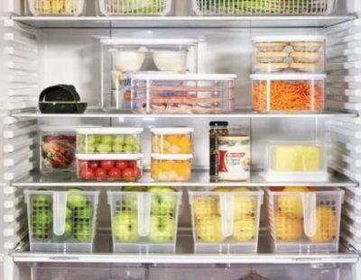 Как организовать пространство в холодильнике