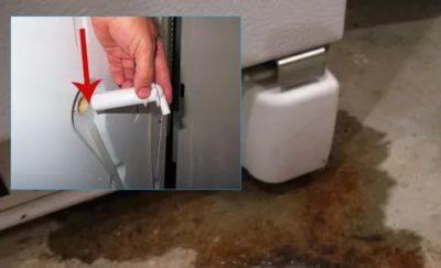 Почему замерзает дренажная трубка в холодильнике