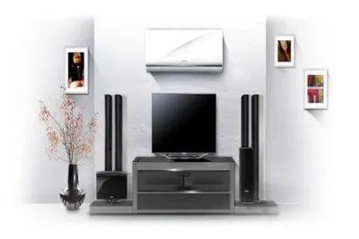 Можно ли установить кондиционер над телевизором