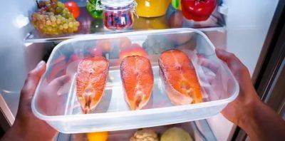 Сколько может хранится в холодильнике соленый лосось