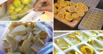 Можно ли заморозить лимонный сок