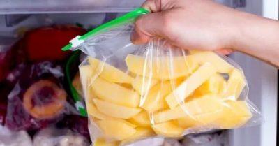 Как правильно заморозить картофель