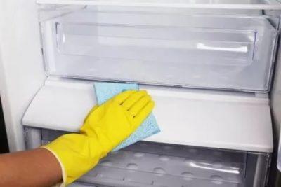 Как помыть новую морозильную камеру