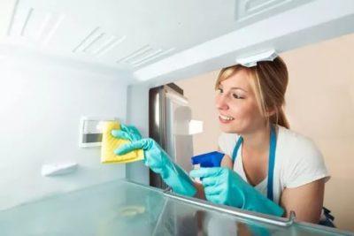 Чем помыть холодильник в первый раз