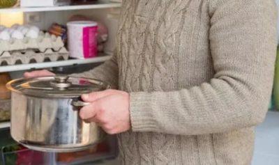 Можно ли ставить не остывшую еду в холодильник