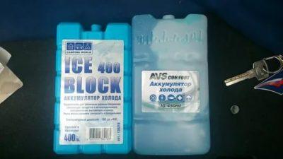 Сколько нужно аккумуляторов холода для Термобокса