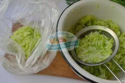 Можно ли заморозить кабачковые оладьи