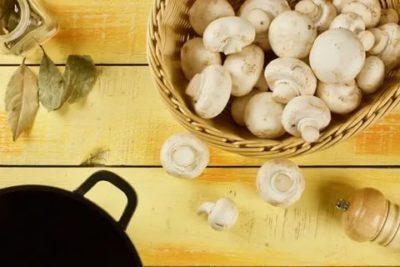 Сколько по времени готовятся замороженные шампиньоны