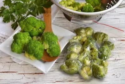 Можно ли заморозить сырую брокколи