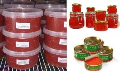 Сколько хранится красная икра в холодильнике в пластиковой банке