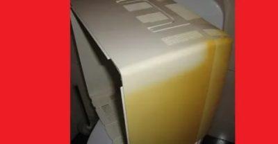 Как отбелить пожелтевший пластик на холодильнике