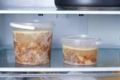 Можно ли замораживать суп в стеклянных банках