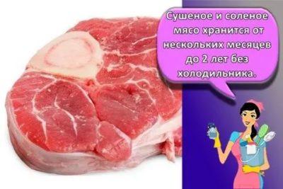 Как люди хранили мясо без холодильника