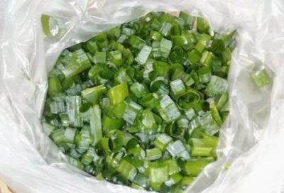 Можно ли заморозить нарезанный зеленый лук