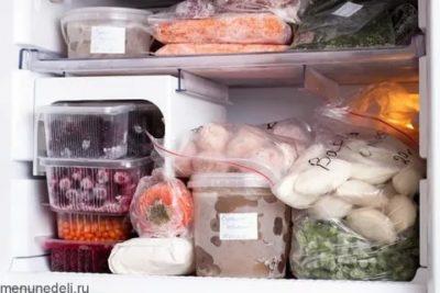 Можно ли замораживать готовую пищу