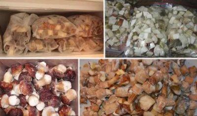 Как сварить грибы для заморозки