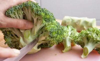 Как правильно заморозить капусту брокколи