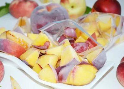 Можно ли замораживать персики и нектарины