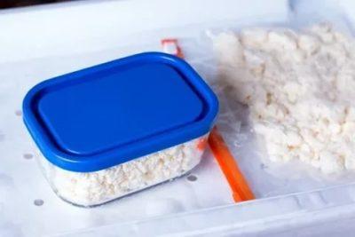 Как быстро разморозить замороженный творог
