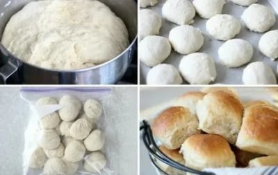 Как разморозить булочки