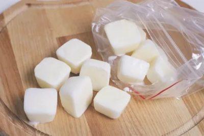 Можно ли заморозить топленое молоко