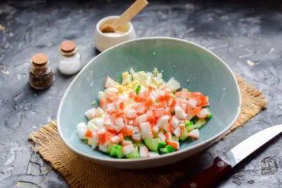 Как разморозить салат