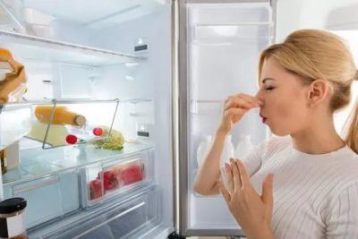 Как убрать неприятный запах с нового холодильника