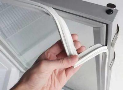 Как заменить резиновый уплотнитель в холодильнике