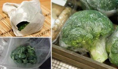 Сколько хранятся брокколи в холодильнике