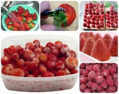 Как правильно и вкусно заморозить клубнику