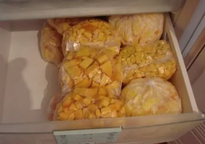 Сколько хранить тыкву в холодильнике