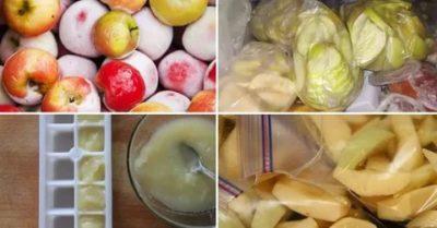 Как правильно заморозить яблочный сок