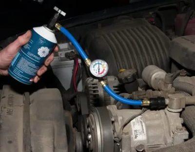 Как проверить уровень фреона в машине