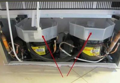 Что может вонять сзади холодильника
