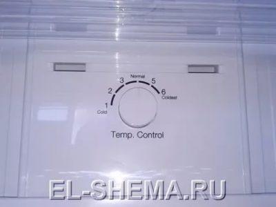 Как настроить регулятор температуры в холодильнике