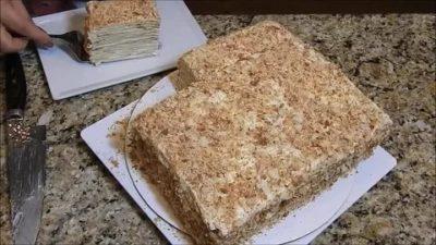 Можно ли хранить торт Наполеон в морозилке