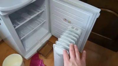 Как отмыть морозильную камеру