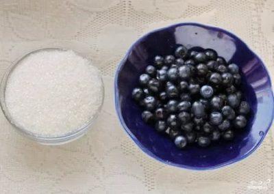 Как заморозить чернику протертую с сахаром