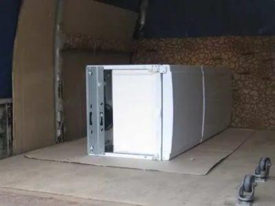 Как правильно перевозить холодильник лежа