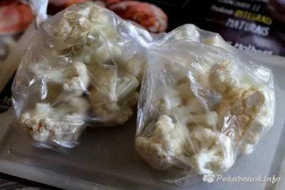 Сколько можно хранить в морозилке цветную капусту