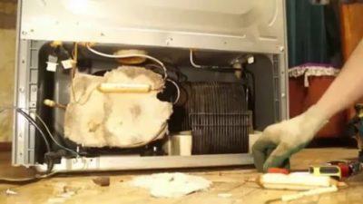 Почему не морозит холодильник LG