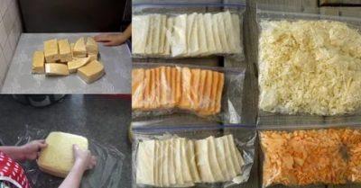 Можно ли заморозить сыр