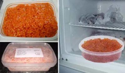 Можно ли хранить икру в морозилке