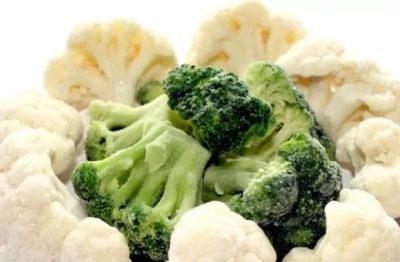 Как правильно заморозить цветную капусту и брокколи