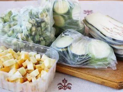 Можно ли заморозить кабачки и баклажаны