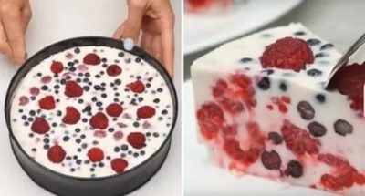 Сколько застывает желе для торта