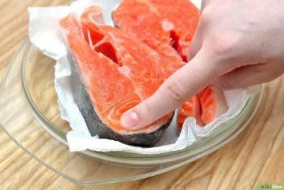 Как правильно разморозить лосося